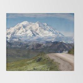 The Mountain Path Throw Blanket