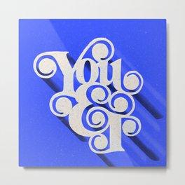 You & I Metal Print