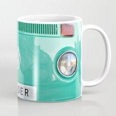 Wander wolkswagen. Summer dreams. Green Mug
