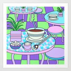 Cream & Sugar Art Print