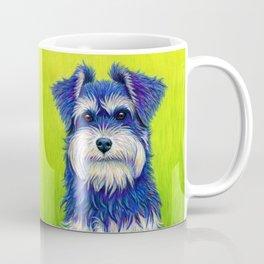 Curiosity - Colorful Miniature Schnauzer Dog Coffee Mug