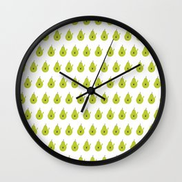 Vulgar Fruit: Profane Pear Wall Clock