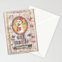cat magic Stationery Cards