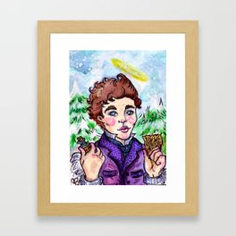 Poison in My Pocket Framed Art Print