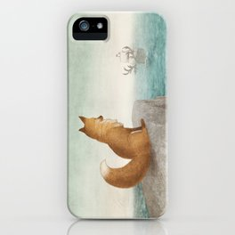 The Day the Antlered Ship Arrived iPhone Case