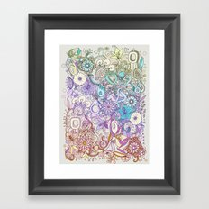 Camtric world creatures Framed Art Print