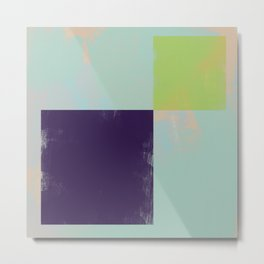 Abstract Geometry No. 12 Metal Print