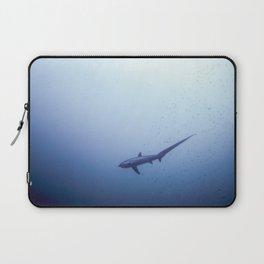Thresher shark in the blue Laptop Sleeve