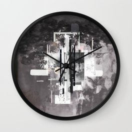 """Hennepin"" Graphic Art Print Wall Clock"