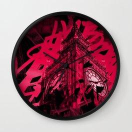 Londres à la nuit Wall Clock