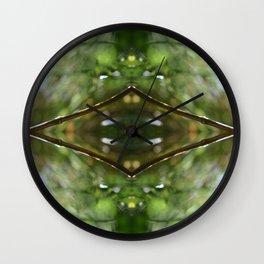 Nature Kaleidocope #11 Wall Clock