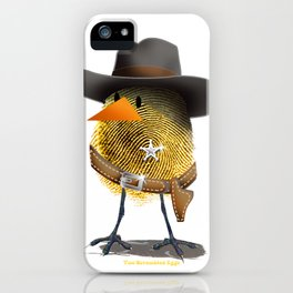 Two Scrambled Eggs - wEGGstern iPhone Case