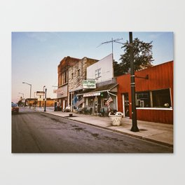 Main Street Fairmount Canvas Print