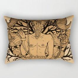 The Devil Rectangular Pillow