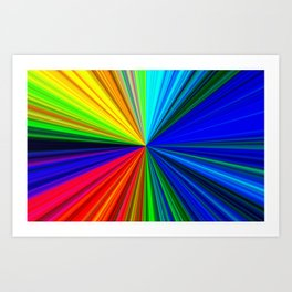 Colours of a Rainbow Art Print