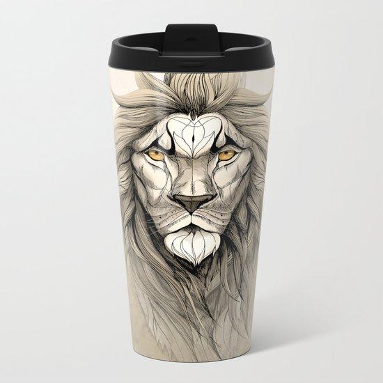 The Lion Metal Travel Mug