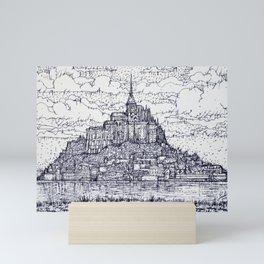 MONT SAINT-MICHEL Mini Art Print