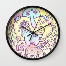 dystopia Wall Clock