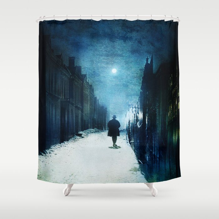 Voice Of Lights Shower Curtain