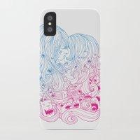 Kiss Kiss iPhone X Slim Case