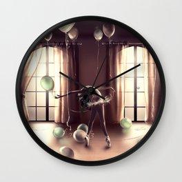 LIBRA from the dancing zodiac Wall Clock