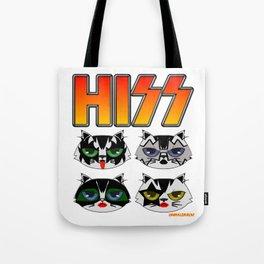 HISS Tote Bag