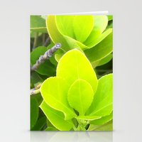 green lantern Stationery Cards featuring Green Lantern by Françoise Reina