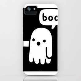 ghost of disapproval iPhone Case