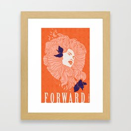 Art Poster - Forward Framed Art Print