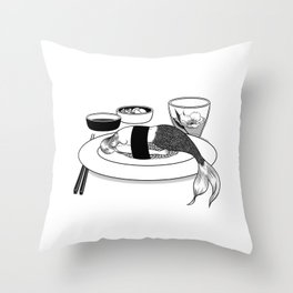 No More Fairy Tales Throw Pillow