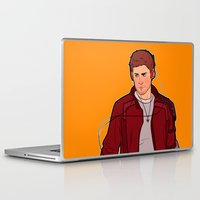 star lord Laptop & iPad Skins featuring Star-Lord Dean by rdjpwns