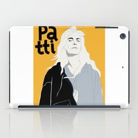 melissa smith iPad Cases featuring Patti Smith by Elin Lucassi