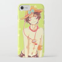 ace attorney iPhone & iPod Cases featuring Ace by Kyyhky