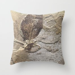 Nature - Leaf of our Past Throw Pillow