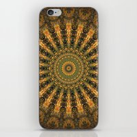 indie iPhone & iPod Skins featuring Indie Sun by Jane Lacey Smith