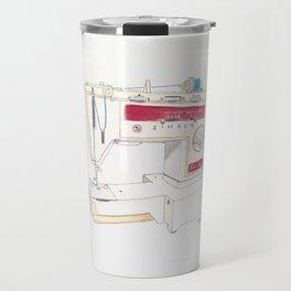 Vintage Singer Stylus 833 Sewing Machine Travel Mug