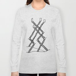 Crooked Stairs Long Sleeve T-shirt