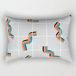 Curly fries inspired Rectangular Pillow
