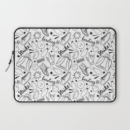 Bowling all night!!! Laptop Sleeve