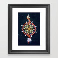 Muladhara Chakra Framed Art Print