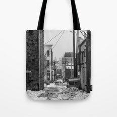Alley Winter Tote Bag