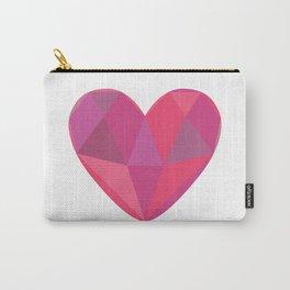 Heart Gem Carry-All Pouch