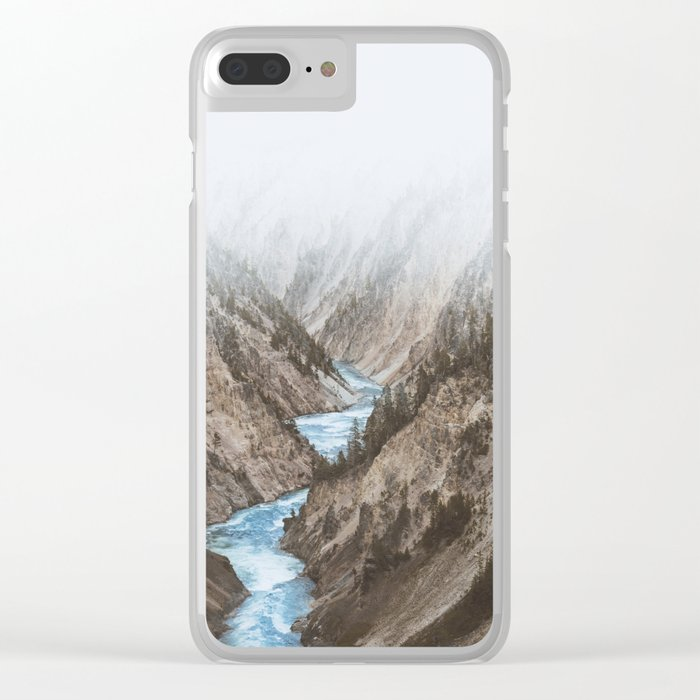 Yellowstone National Park, USA Clear iPhone Case