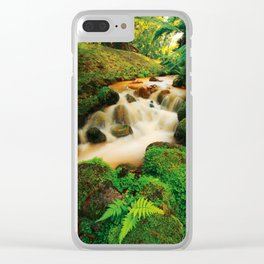 Parque Terra Nostra Clear iPhone Case