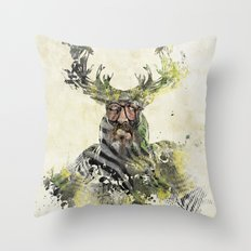 I'm The Source Throw Pillow