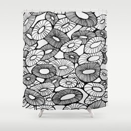 Happy Bunch Shower Curtain