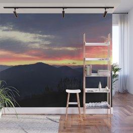 Sunrise over the Sierra Nevada Foothills Wall Mural