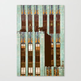 Art Deco Detail of the Eastern Building - Los Angeles #76 Canvas Print