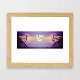 V for VARUS Framed Art Print