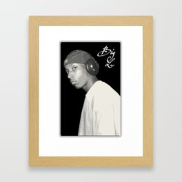 BIG L / Put It On Framed Art Print
